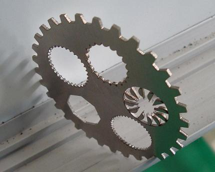 Stainless Steel CNC Laser Cutting Equipment , Double Drive Sheet Metal Laser Cutter