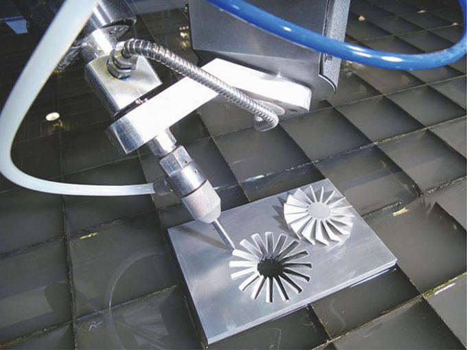 37KW CNC Water Jet cutting machine 1500*3000mm FDA for glass