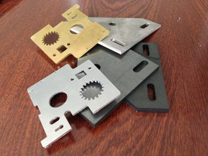 CNC laser cutting equipment for Stainless steel craftwork , laser metal cutting machine
