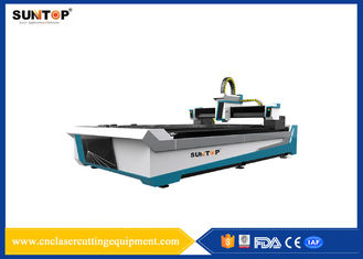 China Stainless Steel CNC Fiber Laser Cutting Machine 800W CE &  ISO9001 supplier