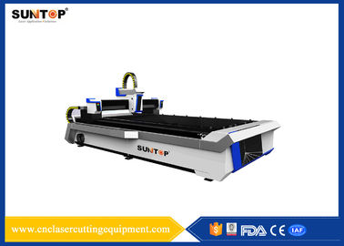 China Stainless Steel CNC Laser Cutting Equipment With Laser Power 800W supplier