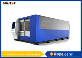 China 2000W CNC Laser Cutting Equipment Dual Exchange Working Tables supplier