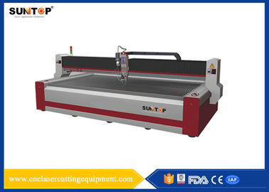 China 37KW CNC Water Jet cutting machine 1500*3000mm FDA for glass supplier