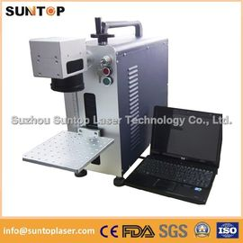 China Bearing portable fiber laser marking machine small size desktop model supplier