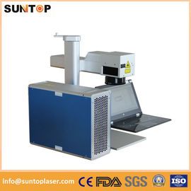 China Rotary Laser Marking Machine laser rotating marking machine with power 20W supplier