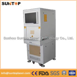 China 50W Europe standard fiber laser engraving machine fiber laser marking system supplier