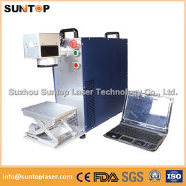 China Small portable laser marking machine for Jewelry inside and outside marking supplier