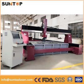 China Dynamic 5 axis cnc water jet cutting machine for granite and marble supplier
