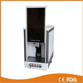 China Full enclosed model fiber laser marking machine, laser power 20W supplier