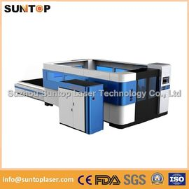 China Mild steel , aluminium , brass and copper fiber cnc laser cutting machine supplier
