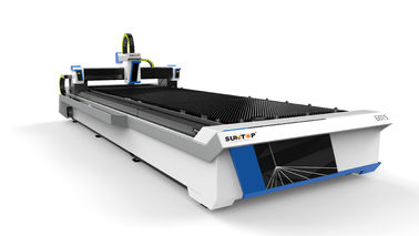 China 2000W Fiber laser cutting machine with table effective cutting size 1500*6000mm supplier