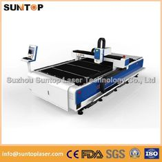 China 8mm Alumnium and 6mm Brass sheet CNC fiber laser cutting machine 2000W supplier
