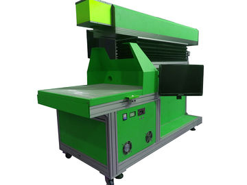 China 3D dynamic focusing large marking size CO2 laser marking machine for jeans supplier