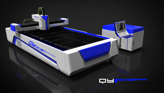 China 500 Watt Fiber Laser Cutting Machine for Metals Processing Industry , 380V / 50HZ supplier