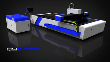 China 1000W Fiber Laser Cutting Machine For Sheet Metal Cutting Industry supplier