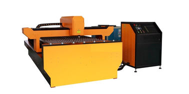 China Galvanized Steel YAG Laser Cutting Machine , Laser Power 650W for Advertising Trademark supplier