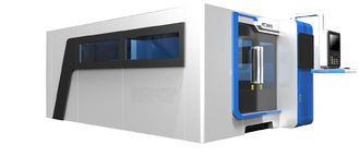 China Sheet Metal Cutting Fiber Laser Cutting Machine With Laser Power 1000W supplier