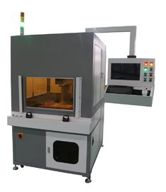 China 20W Fiber Laser Marking Machine with Range Marking 200mm * 200mm , X / Y Axis Working Table supplier