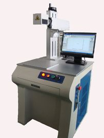 China Carbon Steel / Aluminum Materials Fiber Laser Marking Machine , High Beam Quality And High Reliability supplier