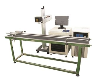 China Production line Fiber Laser Marking Machine for Brass, Copper Materials supplier