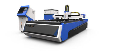 China 500W CNC fiber laser cutter for steel , brass and Alumnium industry processing supplier