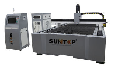 China 500W CNC Industrial Laser Cutter For Steel and Alumnium , Adjusted Through Z axis supplier