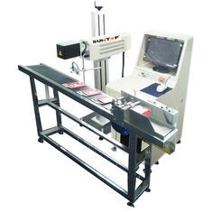China 30W CO2 Laser Marking Machine for Production Date Marking , Industrial Laser Engraver supplier