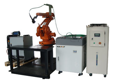 China 400W Laser Welding Machine For Cooker Hood , 3D Automatic Laser Welder supplier
