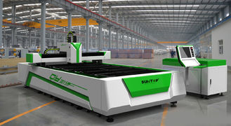 China 500W CNC Fiber Laser Cutting Equipment For Sheet Metal Processing supplier