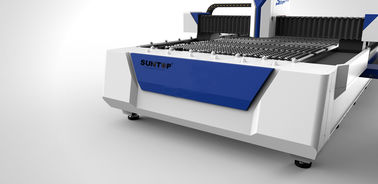 China 500watt Fiber Laser Cutting Machine for Ironware Industry , Cutting Size 1300 × 2500 mm supplier