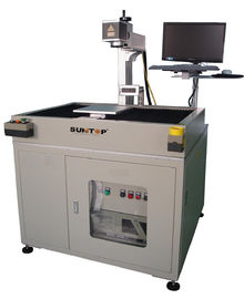 China 50 watt Large Marking Breadth Fiber Laser Marking Equipment For 3c Industry supplier