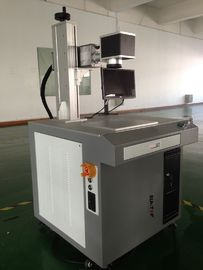 China 20W  Fiber Laser Drilling Machine For Aluminium Brass Steel Punching supplier