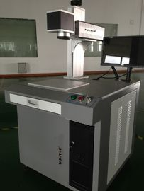 China 30W Plastic Materials Fiber Laser Marking System CE Approved IPG supplier