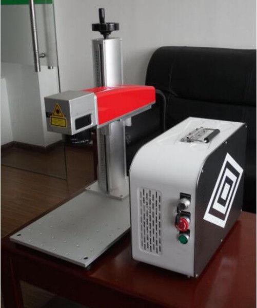 20w Mini Fiber Laser Marking Machine For Plastic Pvc Data