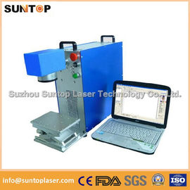 China Gears portable fiber laser marking machine small portable model distributor