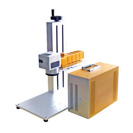 China Plate and animal ear tag portable fiber laser marking machine CE distributor