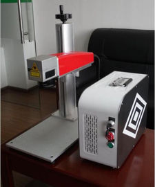China 20W Mini fiber laser marking machine for plastic PVC data matrix and barcode distributor