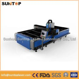 China Stainless steel and mild steel CNC fiber laser cutting machine with laser power 1000W distributor