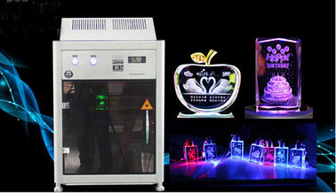 China 4000HZ 3D Crystal Laser Inner Engraving Machine 220,000 dots / Minute Speed distributor