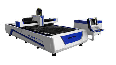 China 500W Fiber Laser Cutter with Cutting Size 1500 × 3000mm for Sheet Metal Cutting factory
