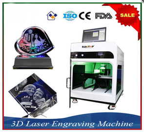 China Laser Engraver Equipment 3D Crystal Laser Inner Engraving Machine factory